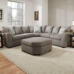 Latitude Run Simmons Upholstery Daisy Sectional & Reviews | Wayfair