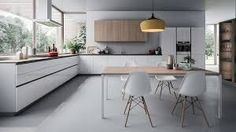 Modern minimal kitchen by Satyesh Machani