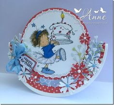 LOTV - Rosie with Cake by Anne Richardson