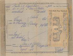 Bewijs van inschrijving van Shetlandpony Paula by Brabant Bekijken, via Flickr Sheet Music, Beast, Tatoo