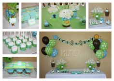 boy baby shower! but instead of monkeys i would do cars :)