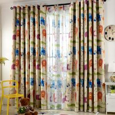 If you are wondering about kid's curtain then here are some of the best kid's room curtains ideas that you need to check out and also you can have them as well. Color Block Curtains, Silk Curtains, Outdoor Curtains, Cool Curtains, Curtains With Blinds, Window Curtains, Kids Room Curtains, Curtain Patterns, Aesthetic Bedroom