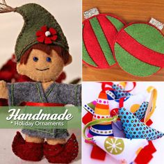 Trend Alert! Handmade Ornaments. Click http://www.craftsy.com/ext/Pin_BP_20121222 to read more on the Craftsy blog!