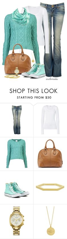 """""""Blue Bird"""" by kellyloveschristmas ❤ liked on Polyvore featuring LTB by Little Big, American Vintage, Band of Outsiders, Converse and Kate Spade"""