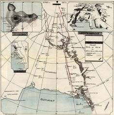 South Pole expeditions, routes of Amundsen & Scott