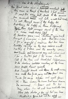 poem ode to a nightingale