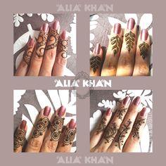 Alia Khan.Cute finger designs.