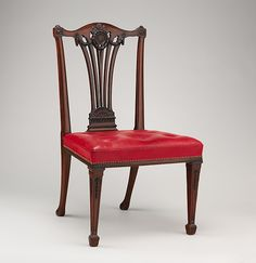 Chippendale side chair. 1772