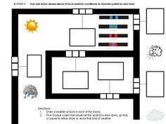 This is a maze worksheet to be used by Kindergarten teachers who have Ozobots in their classroom. It is aligned with NGSS standards and observing weather patterns over time. Maze Worksheet, Worksheets, Year 2 Classroom, Computer Lessons, Computer Science, Printable Mazes, Stem Science, Grade 1, Second Grade