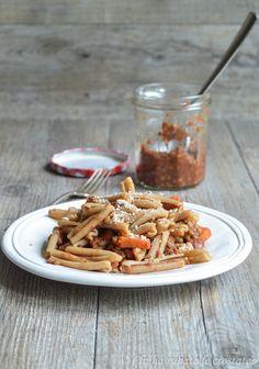 Le proteine vegetali, valore biologico e combinazioni alimentari: Lentil bolognese _ ragù di lenticchie