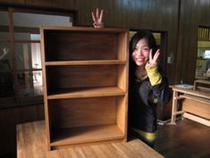 2011年4月30日 みんなの作品【本棚・棚】 大阪の木工教室arbre(アルブル)