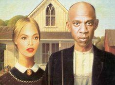 Queen B + Jay Z