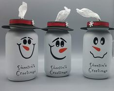 Awesome mason jar projects are available on our web pages. Take a look and you wont be sorry you did. Awesome mason jar projects are available on our web pages. Take a look and you wont be sorry you did. Mason Jar Gifts, Mason Jar Diy, Mason Jar Snowman, Diy Crafts With Mason Jars, Mason Jar Candy, Christmas Jars, Diy Christmas Gifts, Christmas Ideas, Christmas Music