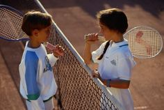 Learning the game of tennis can be frustrating for children, particularly if they've never picked up a racket. Make learning fun by using a series of. Tennis Rules, Tennis Tips, Tennis Gear, Tennis Camp, Tennis Funny, Tennis Lessons For Kids, Games For Kids, How To Play Tennis, Tennis Pictures
