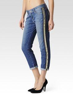 6aba81fd28017 Paige Denim Womens Jimmy Jimmy Crop Pant | New Delhi | Size 25 Friends  Fashion,