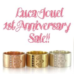 On the last day of this month Luca Jouel is turning 1!!To mark this special occasion we will be offering a celebratory 30% off all currently available pieces across the entire weekend of July 30-31! We invite you to have a look-see at the different pieces available through our wonderful stockists @runway2street @lamaisoncouture @1stdibs and of course at our own site www.lucajouel.com  Stay tuned as some new pieces will be added closer to the date too!  #lucajouel #finejewellery #australian…