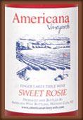 Americana Vineyards Americana Sweet Rosie