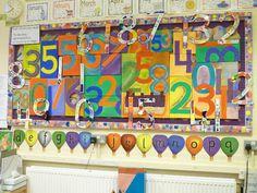 Numbers classroom display photo - Photo gallery - SparkleBox
