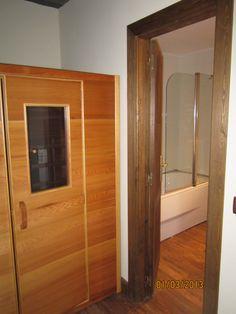 Todas las habitaciones tienen sauna y bañera hidromasaje #grajera #segovia #turismorural