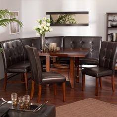 Ravella 6-piece Dining Nook Set