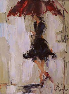 Rainy Day Dress (by Kathy Trotter) [umbrella]