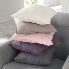 Capa de almofada pequena ou grande, aeri La Redoute Interieurs | La Redoute