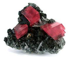 Rhodochrosite, Quartz, and Chalcopyrite from Colorado
