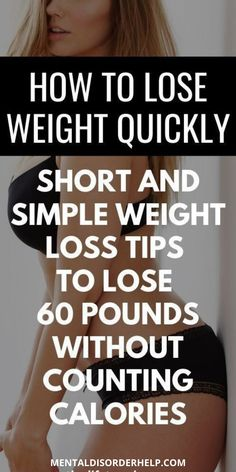 HOW TO LOSE WEIGHT QUICKLY | SHORT AND SIMPLE WEIGHT LOSS TIPS TO LOSE 60 POUNDS WITHOUT COUNTING CALORIES! #belly #fat #exercise #drinks #mistakes #howtoget #bellyfat #weightloss #fitness #wellness #weightloss #howtoloseweight #100pounds #1month #30lbs #diet