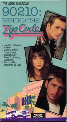 Beverly Hills 90210, Starring Luke Perry, Shannen Doherty & Jason Priestley, 90210: Behind the Zip Code Video Magazine