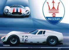 Maserati 151 1965 by Walter Corsini Maserati Car, Ferrari Car, Bugatti, Classic Sports Cars, Classic Cars, 4x4, Sexy Cars, Courses, Custom Cars