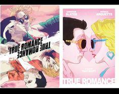 By James Fenwick and Domanic Li for a UK screening. Tony Scott, Christian Slater, True Romance, The Best Films, Pulp Fiction, Good Movies, Design Art, Movie Tv, Poster Prints