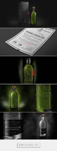 Bodega #Gin #packaging #design #concept by Carrousel - http://www.packagingoftheworld.com/2017/08/bodega-gin-concept.html