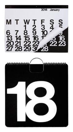 Via Flor | Massimo Vignelli | Stendig Calendar | 365