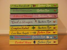 Barbara Pym books. #reading #writing #authors 03012015--Just finished Some Tame Gazelle. Diving into Quartet in Autumn straight away.