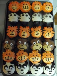 The best things in life are FREE: Jungle Cupcakes