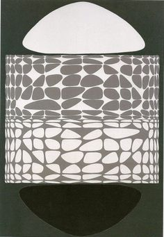 Victor Vasarely: Meandres Belle-Isle, 1951