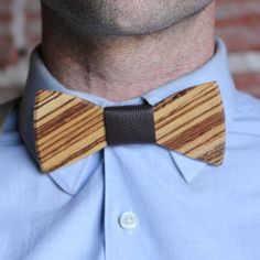 Mr.T Wooden Bow Tie