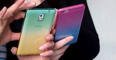 """""""Ombrè"""" Hüllen für das Samsung und Apple iPhone von PhoneNatic.de"""