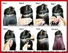 how to instal micro loop hair extensions..no more hair damages