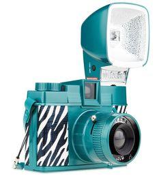 Diana F  Zebra - My baby Lomo camera :) sooooo cute