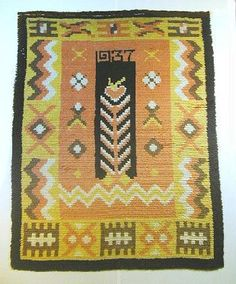 """Palava sydän"", Finland, 1937  Don't care much for the colours, but the traditionally inspired pattern is quite striking."