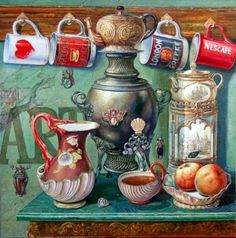Solve Still life jigsaw puzzle online with 361 pieces Vintage Diy, Vintage Labels, Vintage Postcards, I Love Coffee, Coffee Art, Coffee Painting, Painting On Wood, Tee Kunst, Foto Transfer