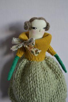 Arielle An Art Doll by maidolls on Etsy