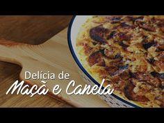 As Minhas Receitas: Delícia de Maçã e Canela (receita também em vídeo) Portuguese Recipes, Portuguese Food, Just Desserts, Banana Bread, Food And Drink, Low Carb, Favorite Recipes, Sweets, Cooking