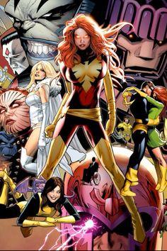 Jean Grey Marvel Girl Phoenix