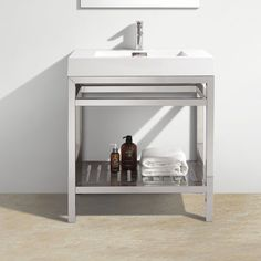 "Hammonton Modern 30"" Single Bathroom Vanity Set"