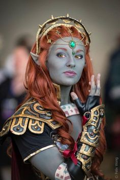 """""""Do not think that this ends here... the history of light and shadow will be written in blood!"""" ~Lady Ganon #cosplay by Ely Renae. Photo: Felix Wong Photography #Otakon2014"""