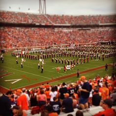 UVa Marching Band.