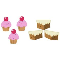 My little Pony - Cup Cake + Carrot Cake Cutie Mark V3