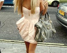 bag, #balenciaga, dress, girl